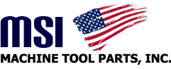 MSI Machine Tool Parts